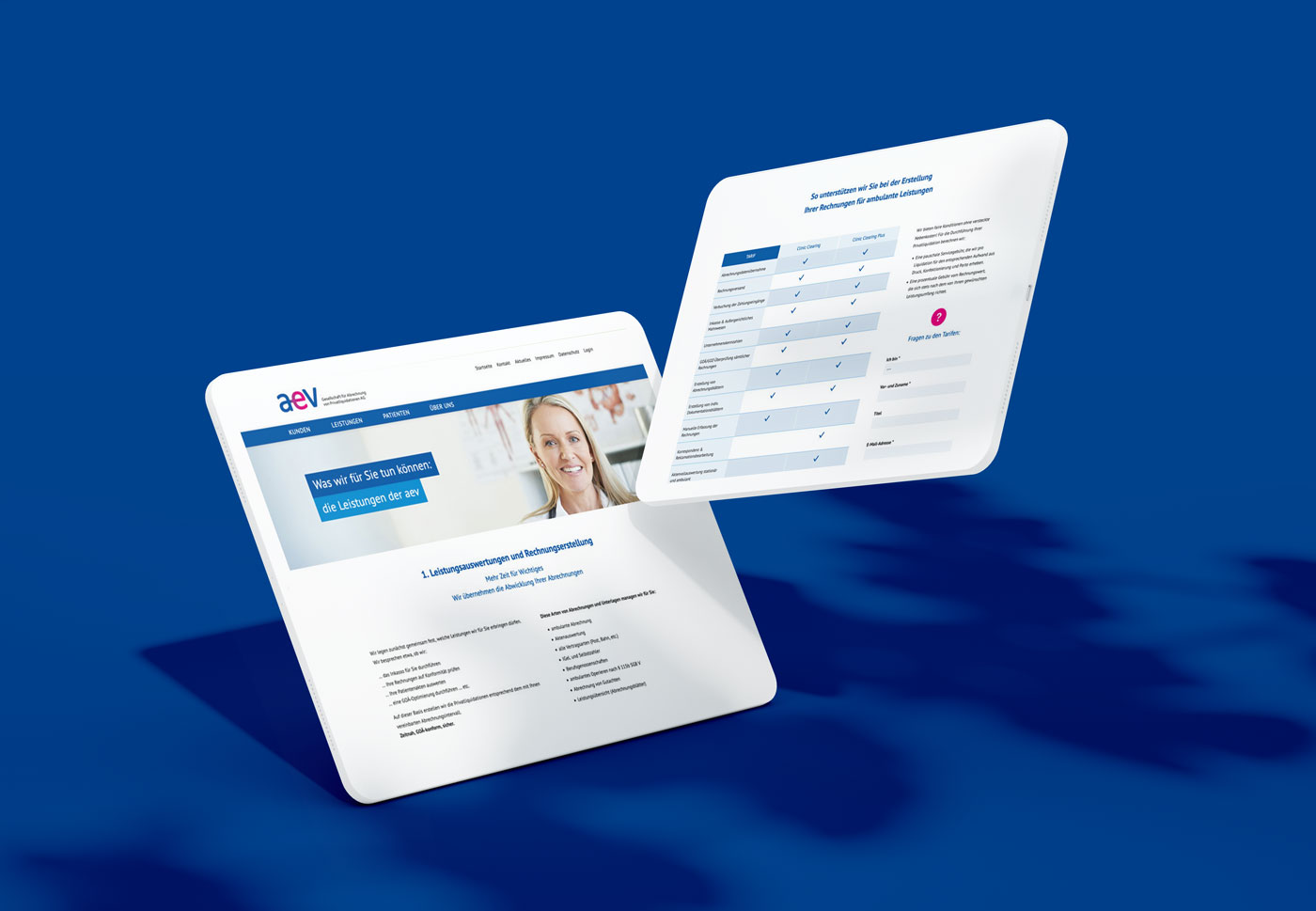 Responsive Webdesign mitTablets und Smartphones in Leipizg
