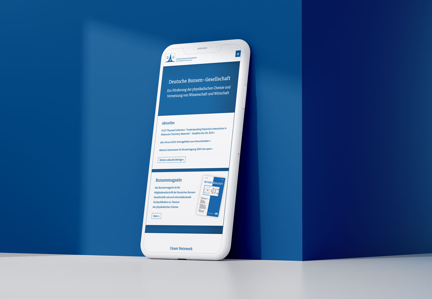 Responsive Webdesign Frankfurt bunsen