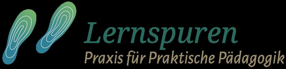 Logodesign lernspuren aus Leipzig