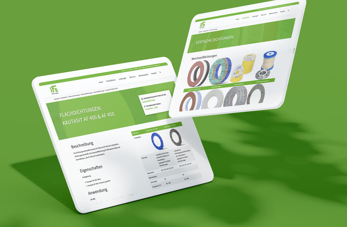 Homepage Design in Leipzig