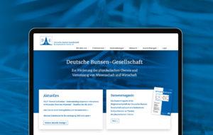 Responsive Webdesign für einen Wissenschaftlichen Verein aus Frankfurt