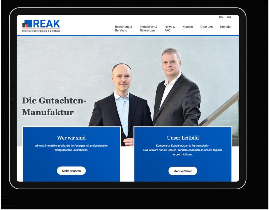 Website Immobiliengutachter Frankfurt