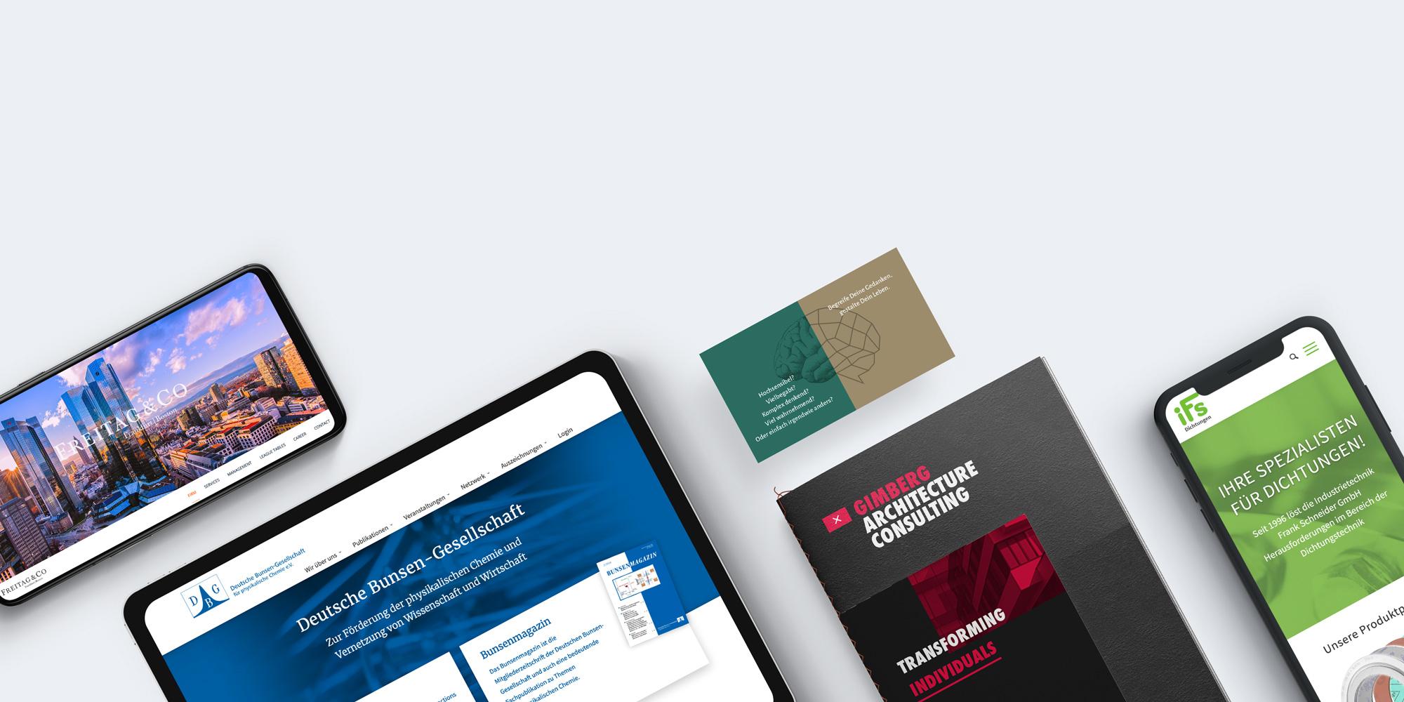 hahnsinn – Internetagentur Webdesign mit WordPress für Frankfurt