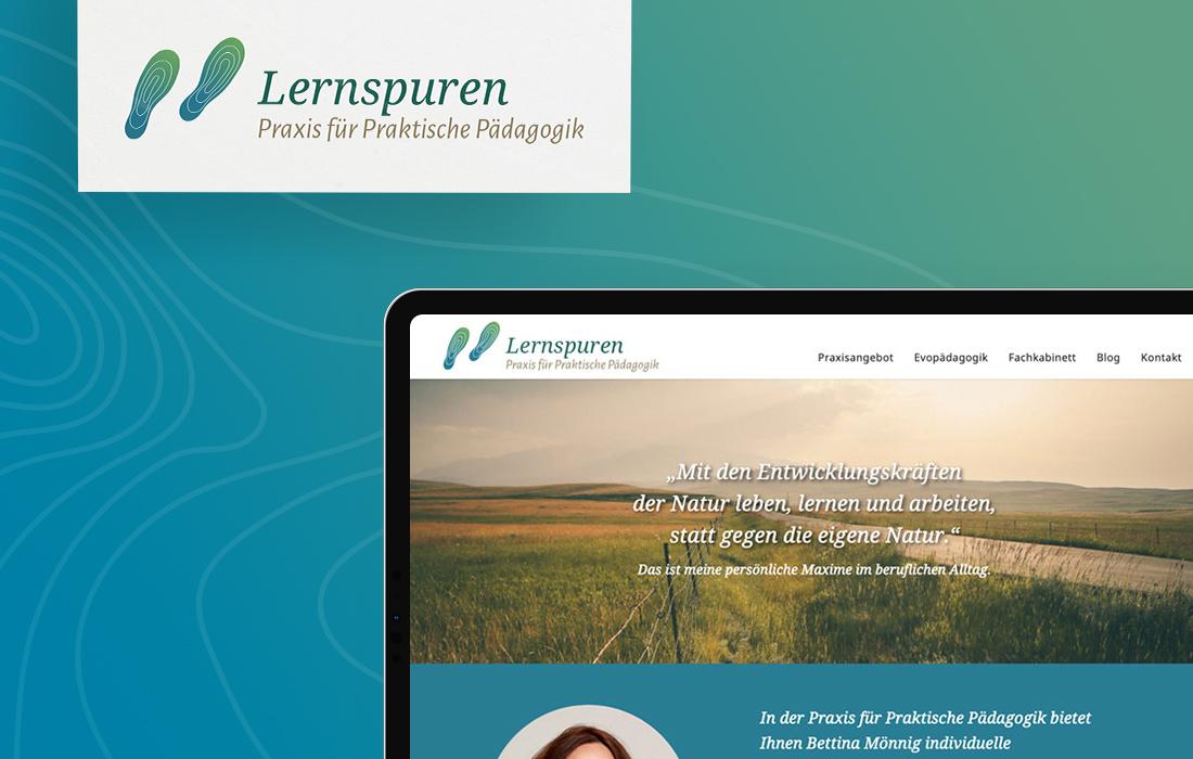Responsive Webdesign und Corporate Design für eine Pädagogin aus Leipzig