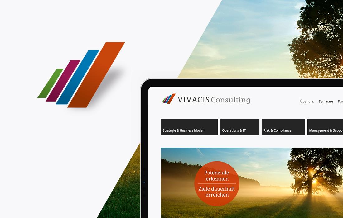Responsive Webdesign und Corporate Design für eine Unternehmensberatung aus Bad Homburg