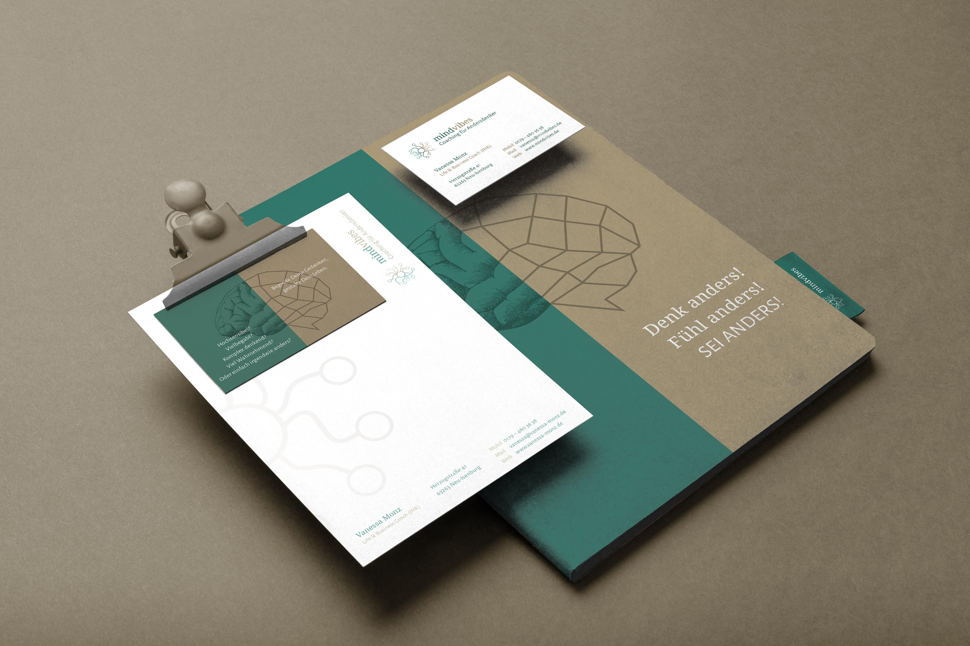 Branding und Corporate Design für einen Coach aus Frankfurt