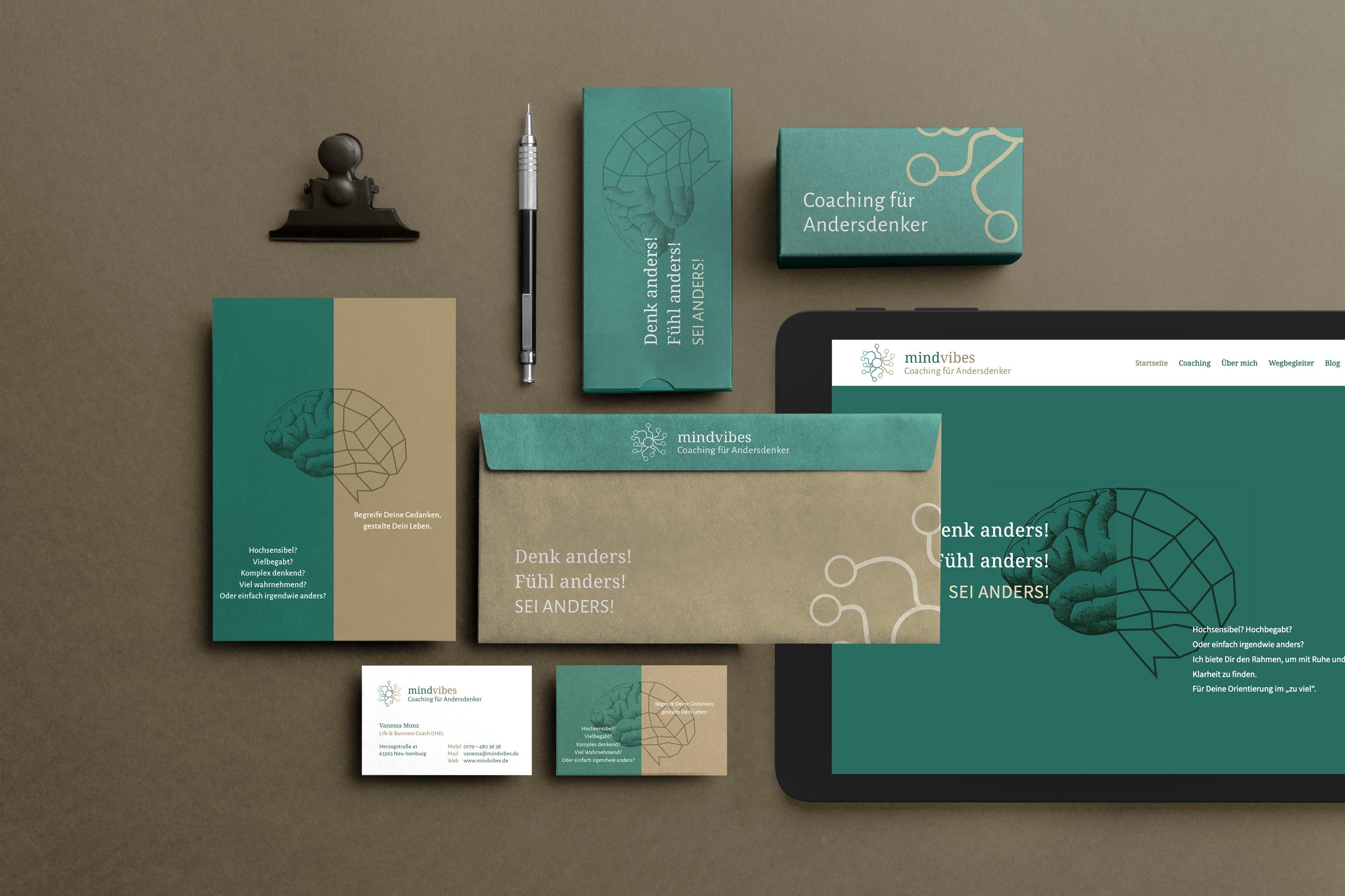 Responsive Webdesign und Branding für einen Coach aus Frankfurt