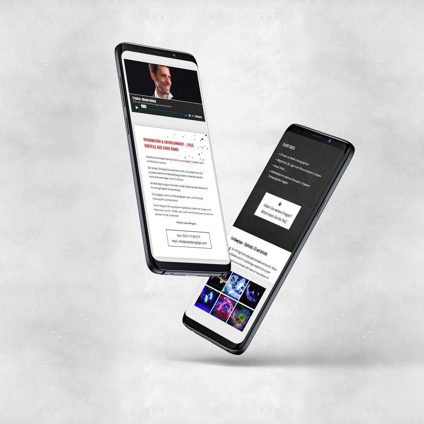 Responsives und mobiles Webdesign aus Köln
