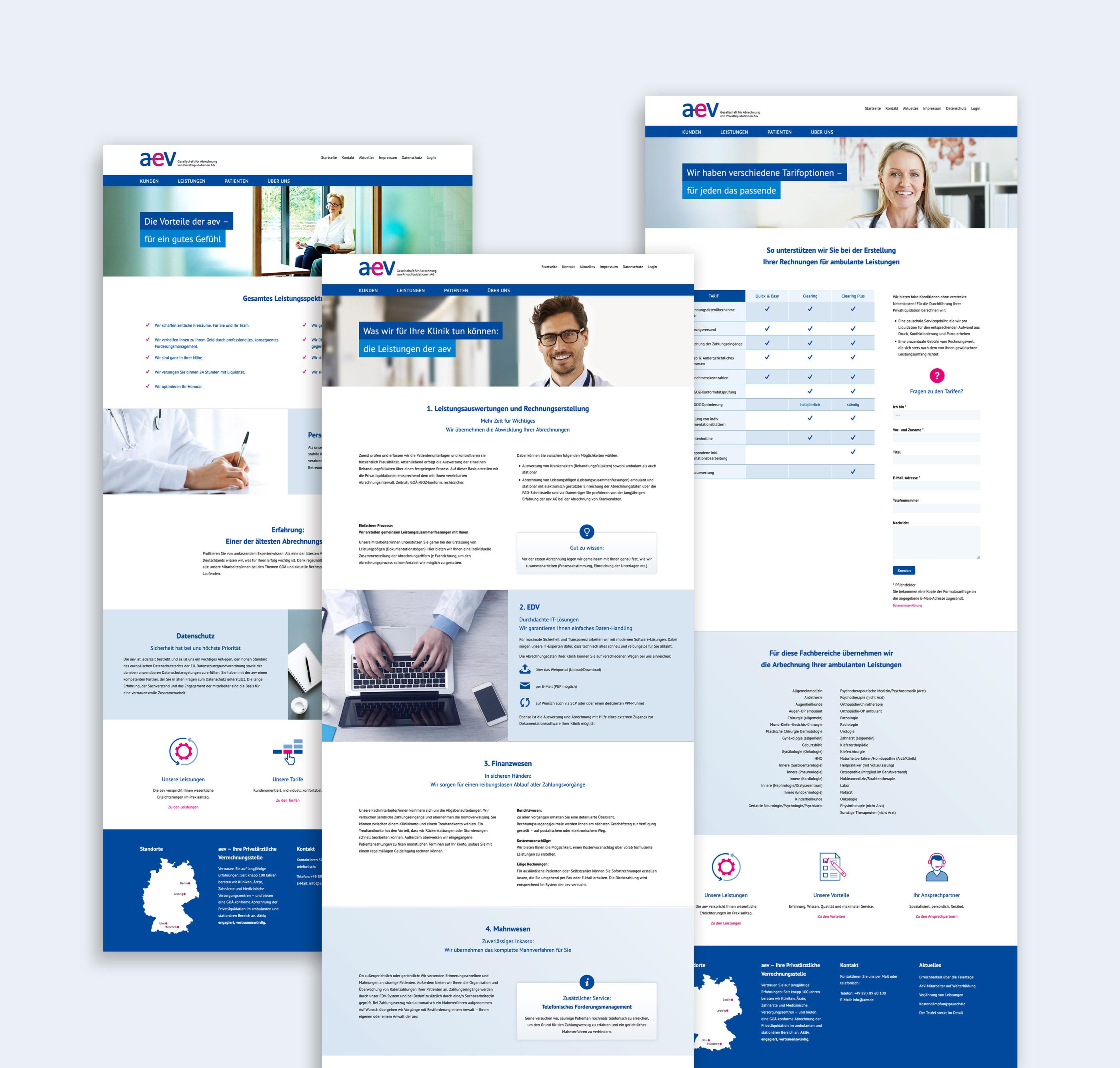 Responsive Webdesign für den Relaunch einer Image-Website aus Leipzig