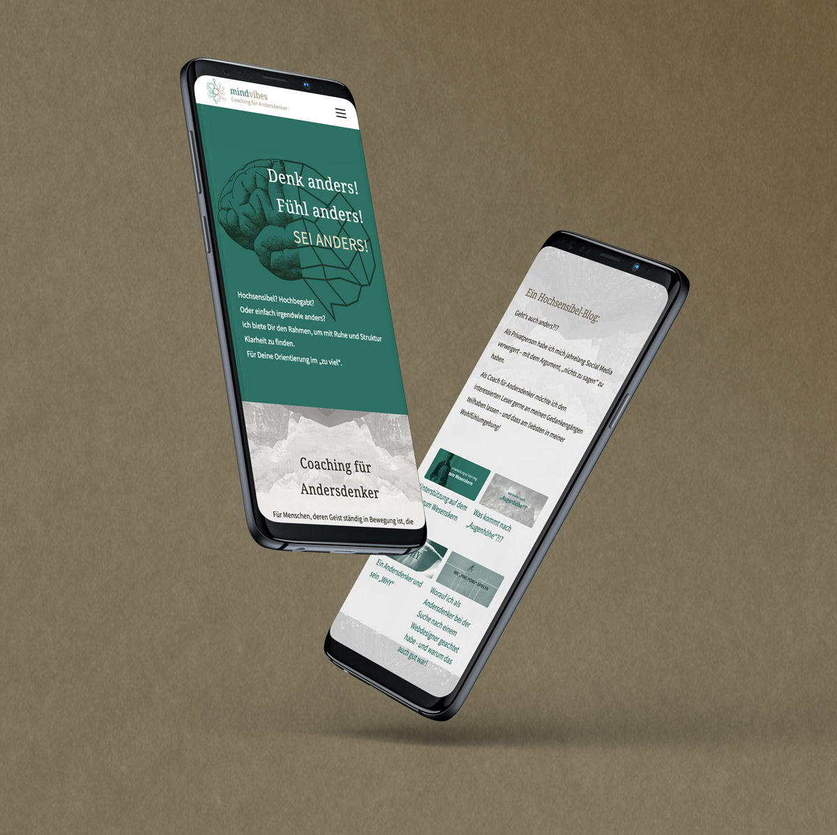Relaunch: Responsive Webdesign mit WordPress für einen Frankfurter Coach.
