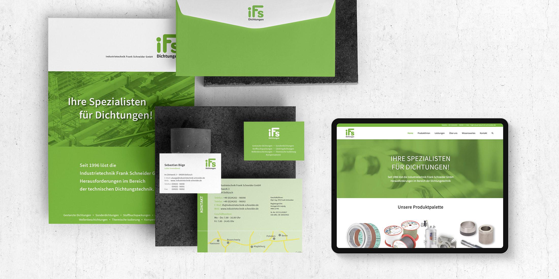 Webseite Relaunch und Branding für einen Mittelständler aus Leipzig