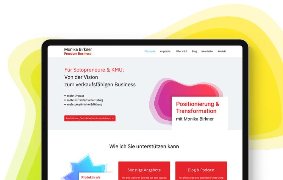 Website Relaunch und Branding für einen Coach aus Offenbach