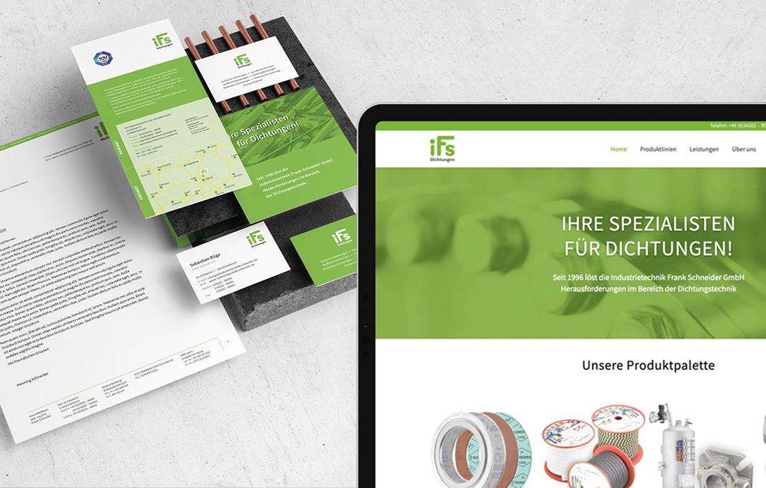 Website-Relaunch und Branding