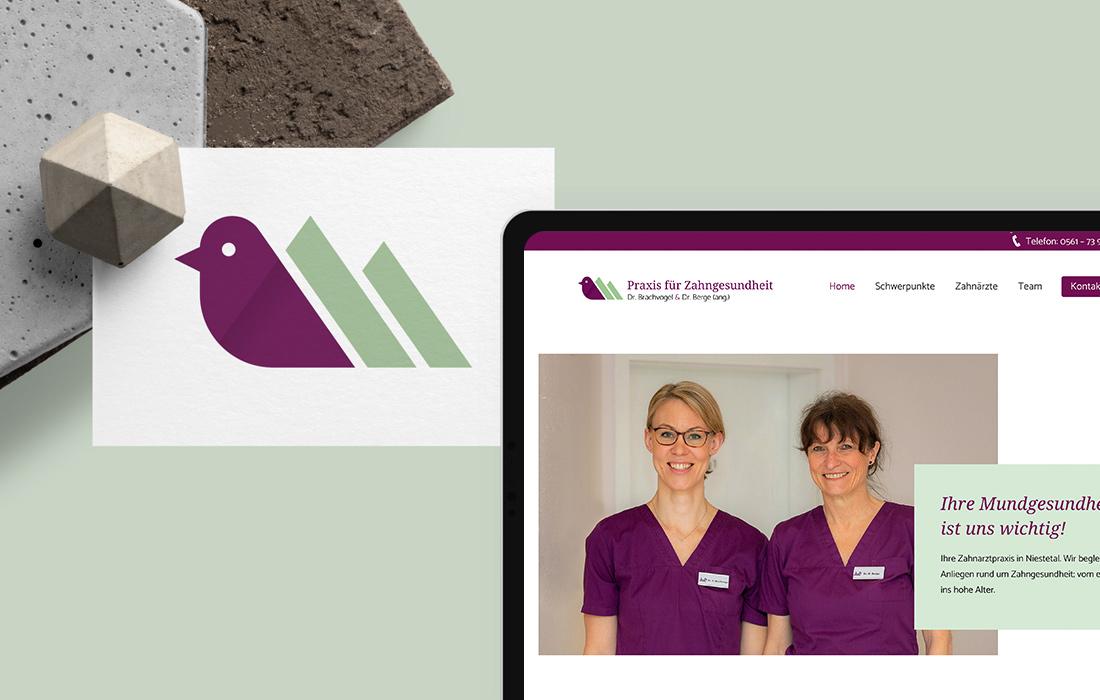 Branding & Responsive-Webdesign für eine Zahnarztpraxis bei Kassel