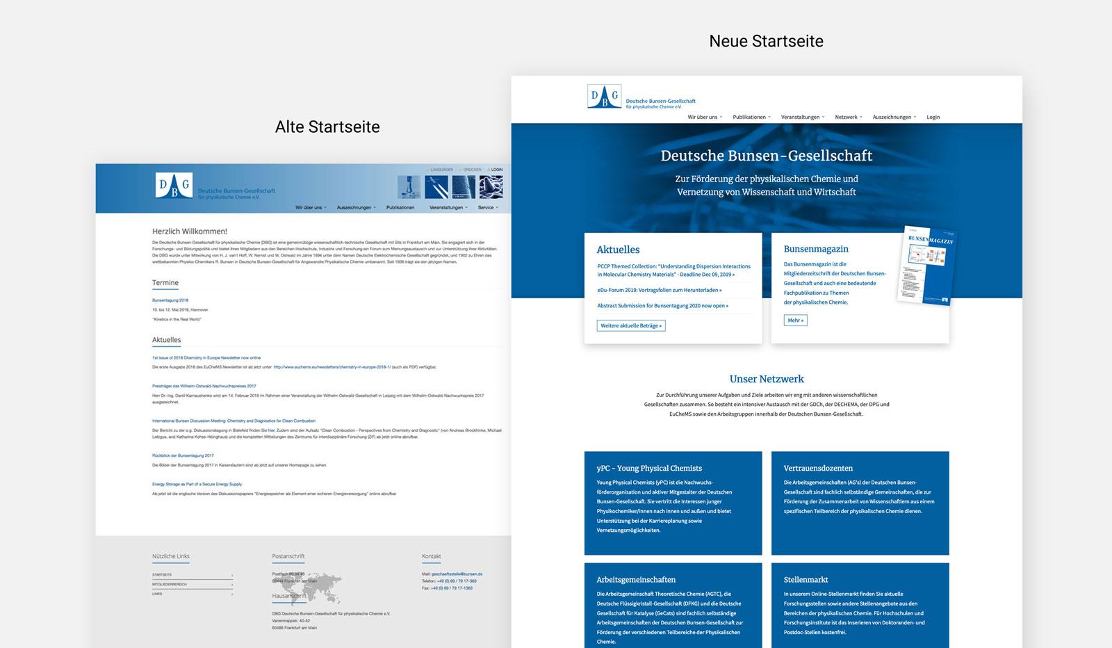 Website-Relaunch Beispiel